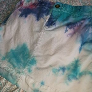 Tie Dyed Old Navy Mini Skirt Size 0